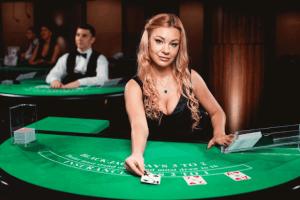 Live Blackjack gratis spelen